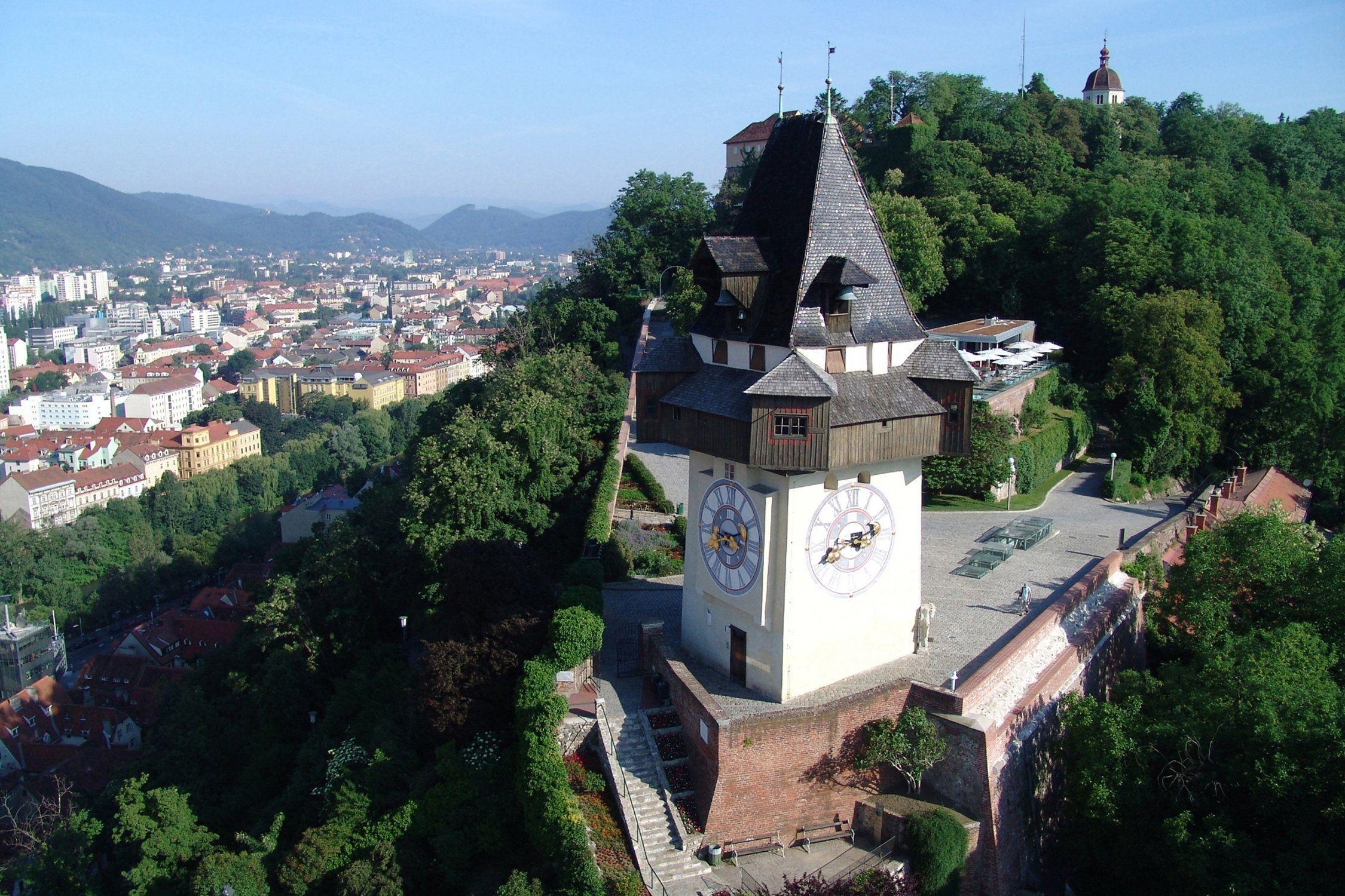 Inspirational Schlossberg Graz (con imágenes)   Patrimonio mundial ...