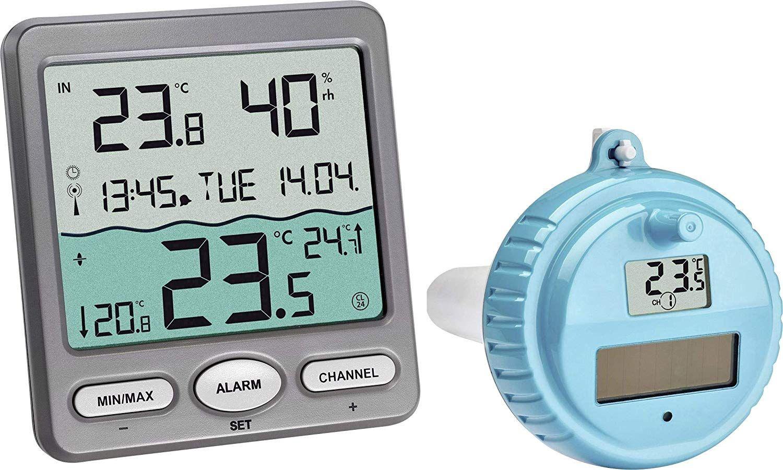 Schwimmsender TFA 30.3199.IT Ersatzsender f/ür Schwimmbadthermometer Malibu