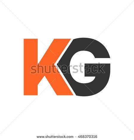 Kg Initial Logo Design Initials Logo Design Initials Logo Logo Design