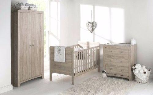 East Coast Nursery Fontana Set Includes Cot Bed Wardrobe