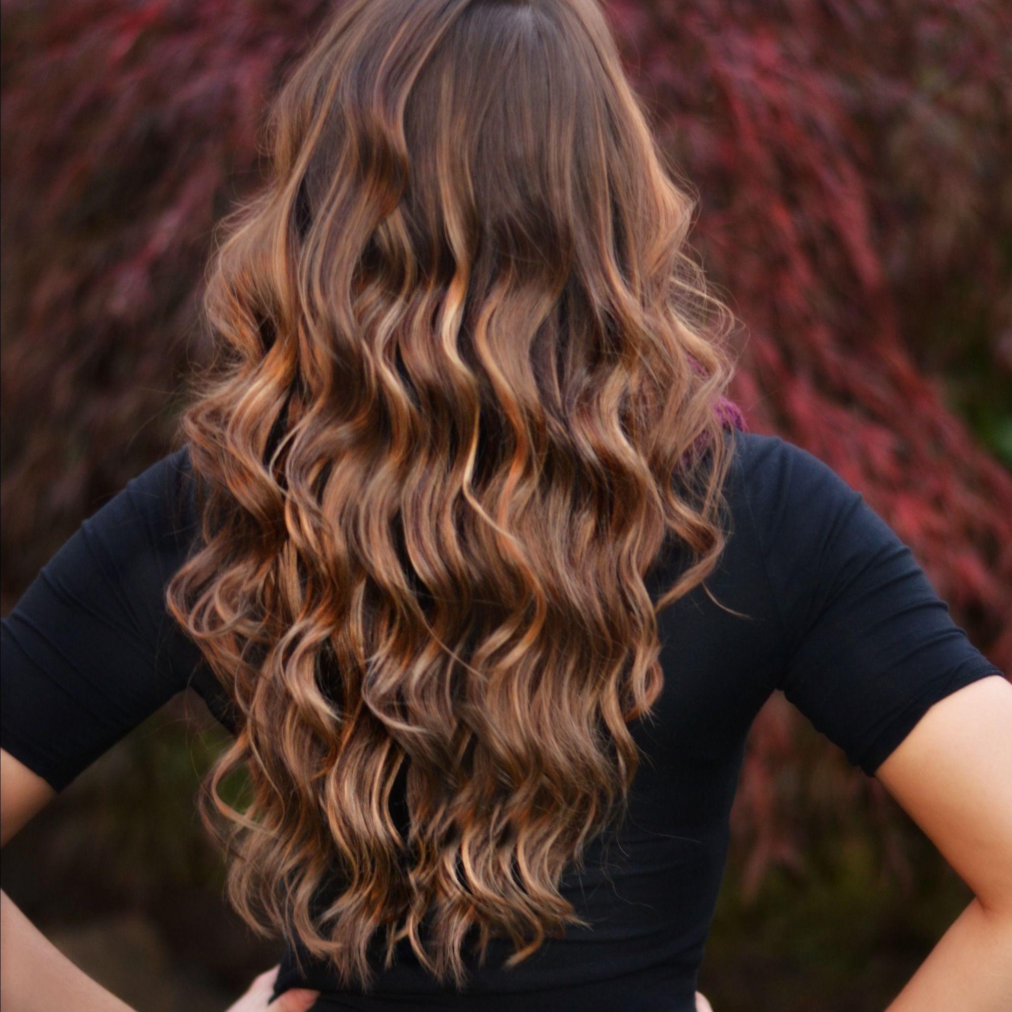 Brown Hair With Caramel Highlights Hair Hair
