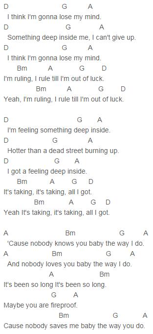 FOUR, One Direction Fireproof Chords Lyrics for Guitar Ukulele Piano ...