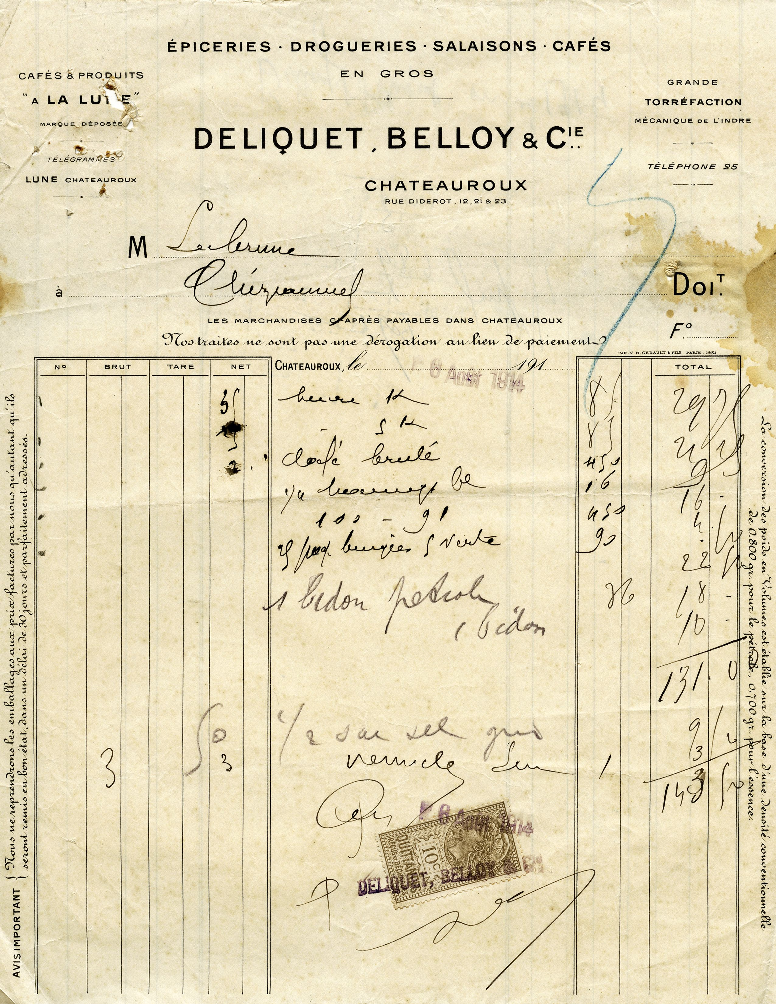 French Vintage Receipt Vintage Accounting Graphics Antique Receipt - Free online receipts invoices vintage online stores