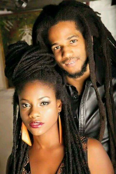Kween And King Locs Hairstyles Cool Hairstyles Dreads Styles