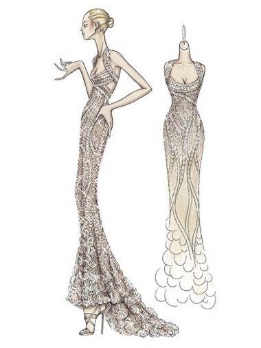 Atelier Versace #fashion  #illustration
