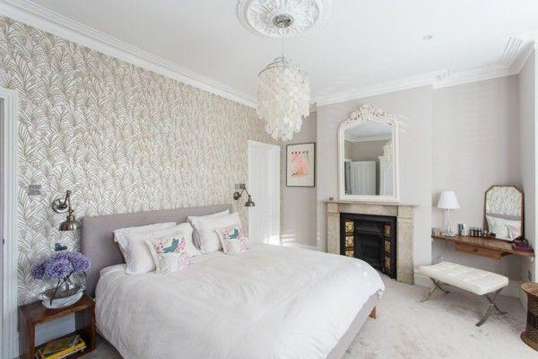 Moderne Schlafzimmereinrichtung, die 2017 populär ist