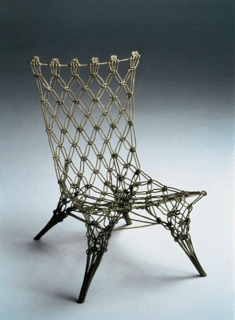 knotted chair marcel wanders | right Marcel Wanders, Knotted Chair 2006)