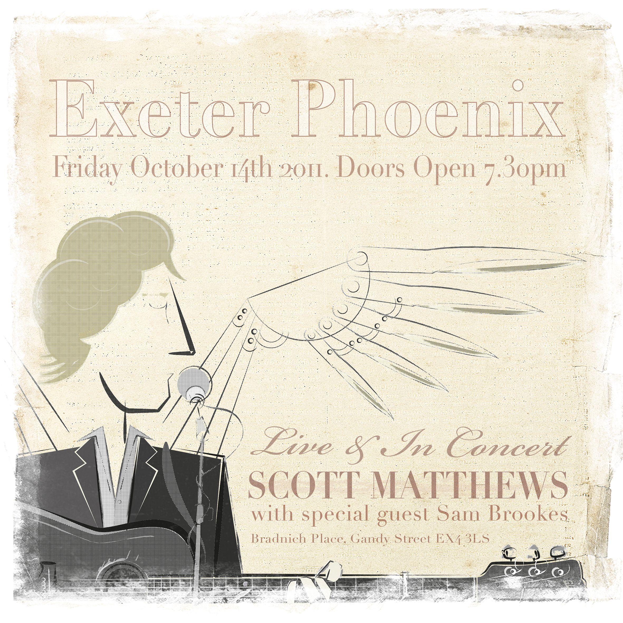Scott Matthews Exeter Phoenix Exeter Special Guest