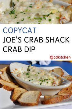 Copycat Joe's Crab Shack Crab Dip Recipe | CDKitch