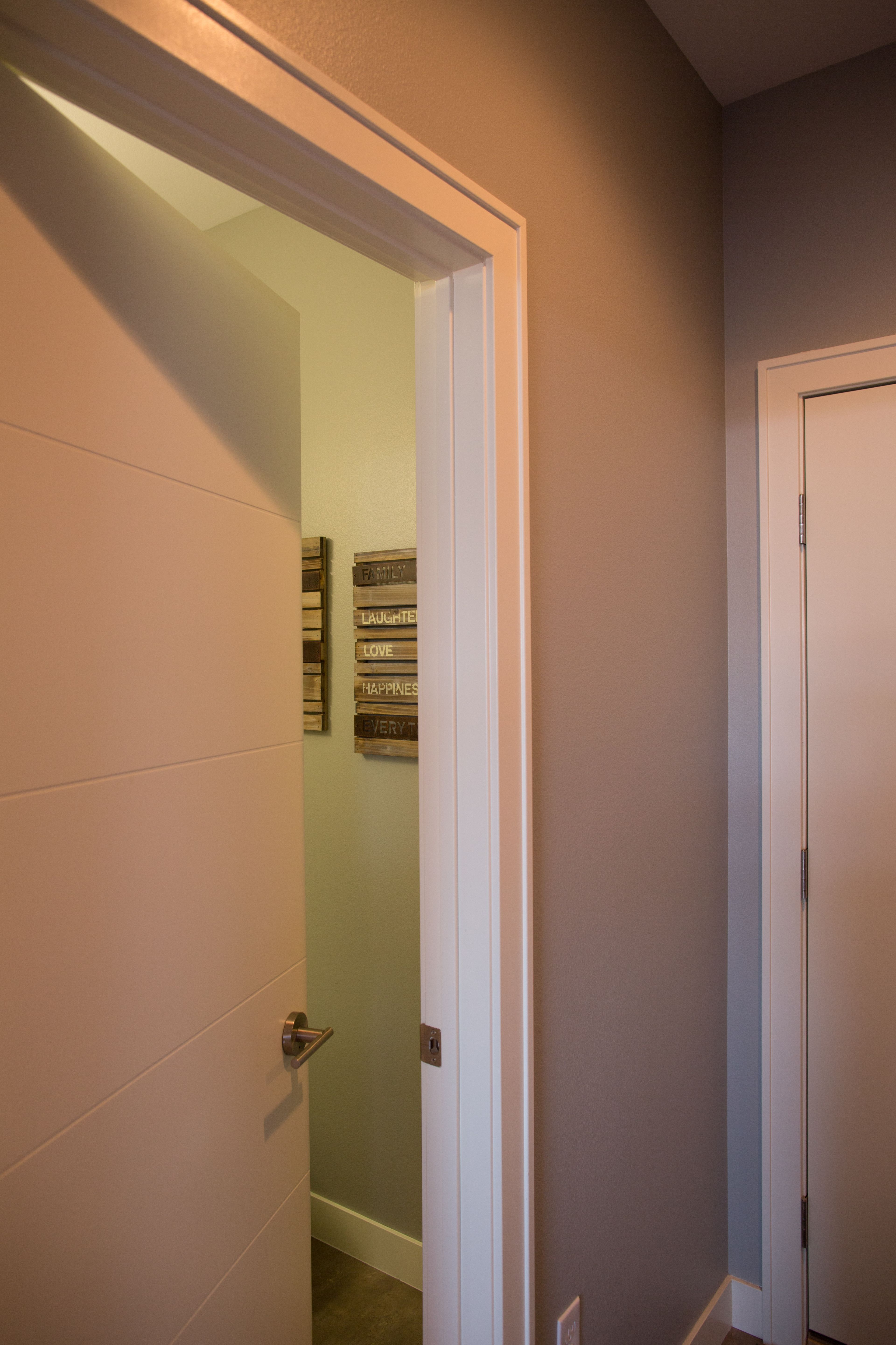 Interior Doors We Have Many Chic Interior Doors For Your Project Including This Molded Door With A Horizontal Groov Doors Interior Interior Baseboard Trim