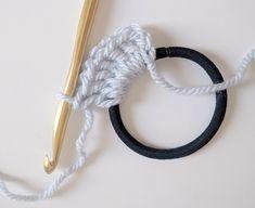 How to Crochet a Scrunchie 3 Ways
