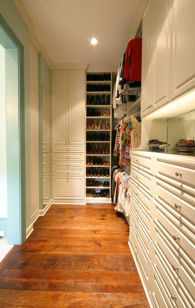 Walk In Closet With Vanity Counter Christy Chachere Her