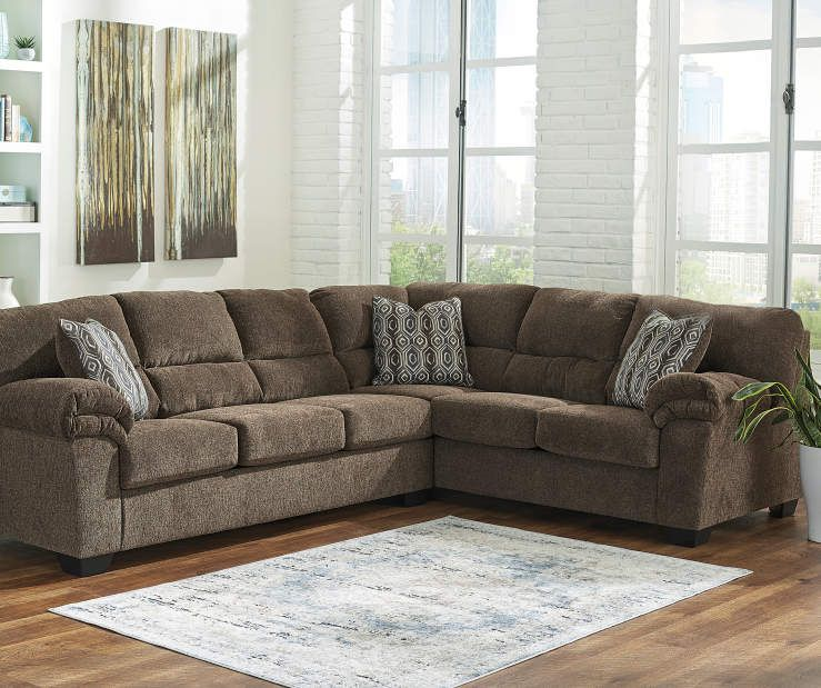 Signature Design By Ashley Brantano Living Room Sectional Big