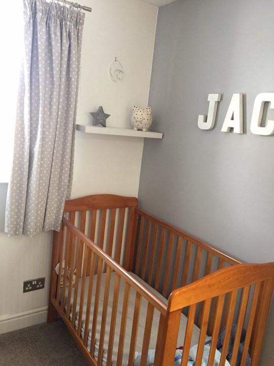 Dulux Kids Bedroom In A Box: Heidi Has Created This Beautiful Nursery Using Chic Shadow
