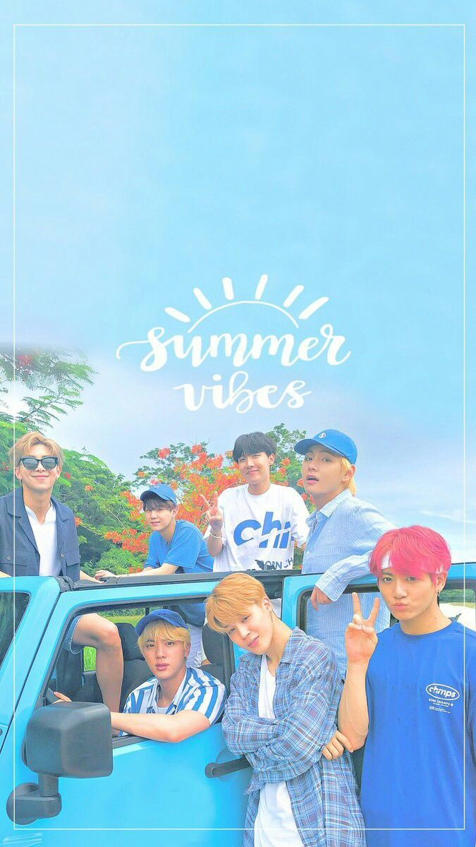 Download 500 Wallpaper Bts Summer Package  Terbaru