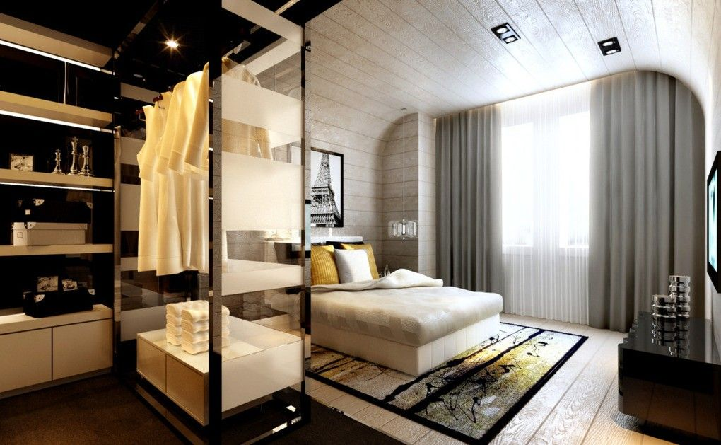 Master bedroom with dressing room Dressing Room