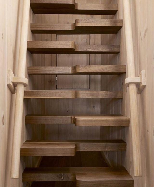 Escaleras empinadas como de barco caba as pinterest for Escaleras tipo barco