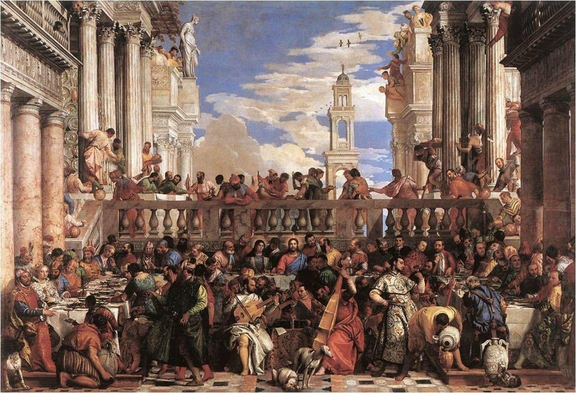 베로네세, 가나의 혼인잔치, 1563, 루브르