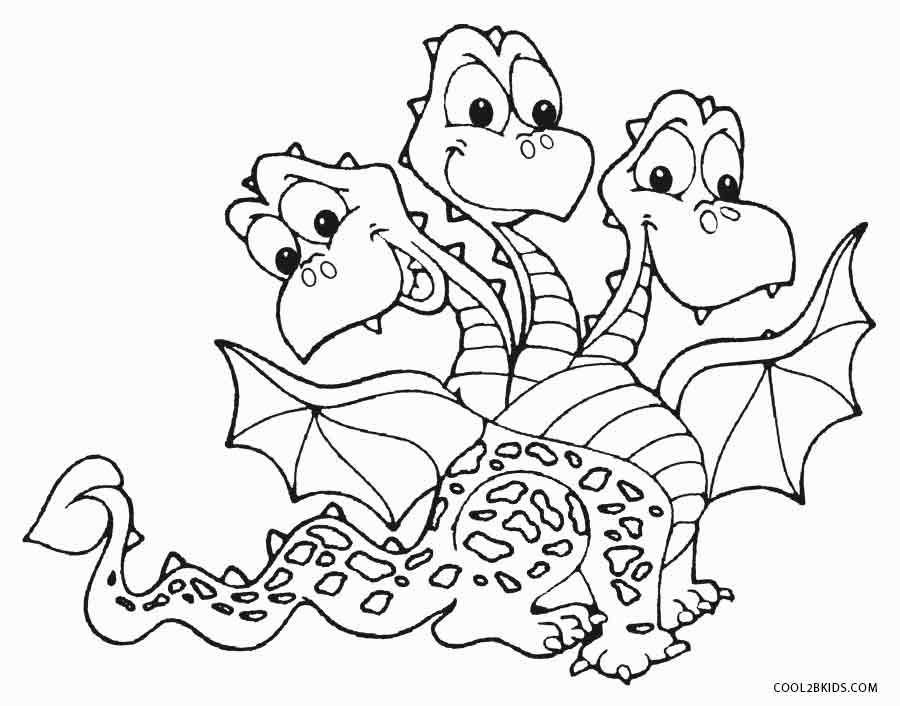 Printable Dragon Coloring Pages For Kids Cool2bKids dragon