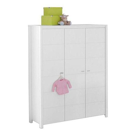 Babykleiderschrank Julia Weiss Kleiderschranke Pinterest