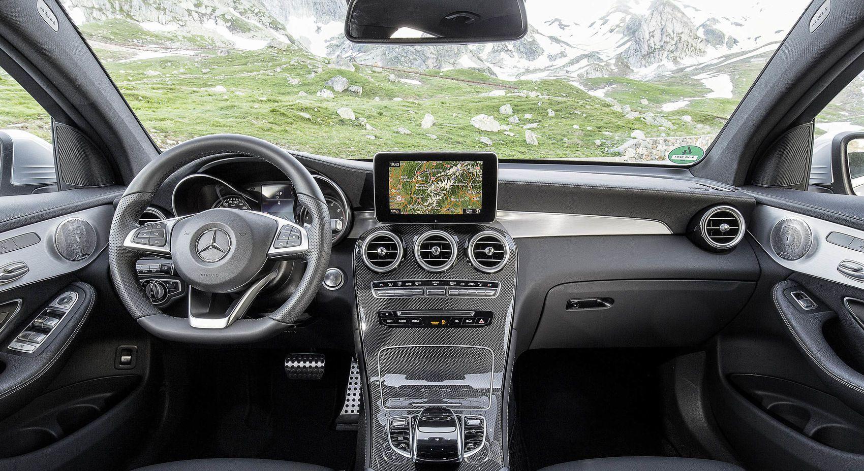 2017 Mercedes Benz Glc 300 Coupe Interior Images Mercedes