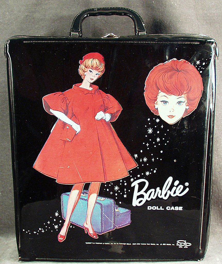 Vintage Barbie Doll Case - 1963. And Blond With Ponytail Memories