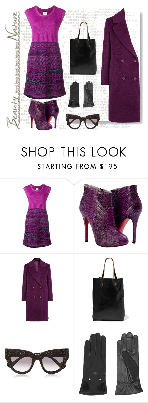 """""""Love this Color!!!!!"""" by diane-fritz-sager on Polyvore featuring Chanel, Paolo Shoes, Samsøe & Samsøe, Marni, Anna-Karin Karlsson and AGNELLE"""