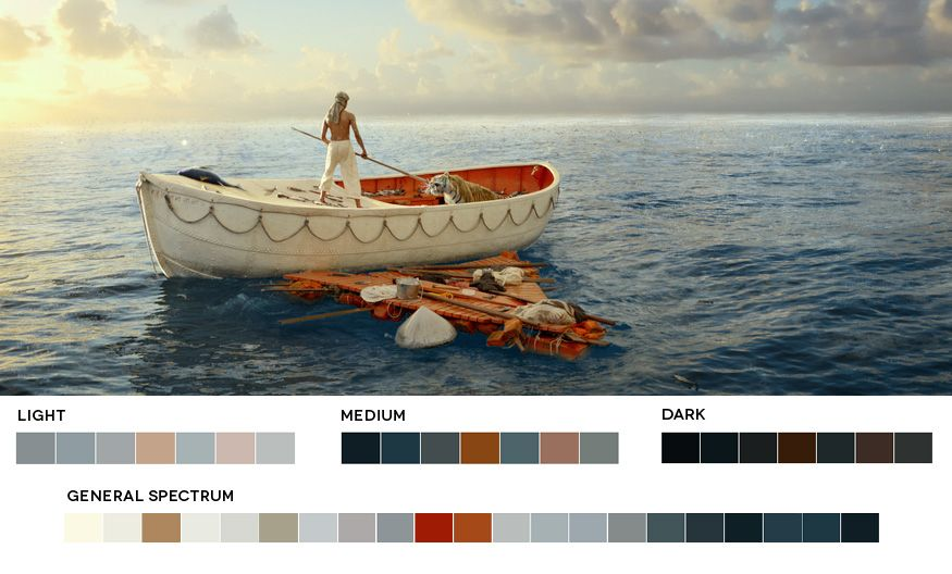 Movies In Color Abduzeedo Design Inspiration Color Palette - These colour palettes inspired by famous movie scenes are beautiful