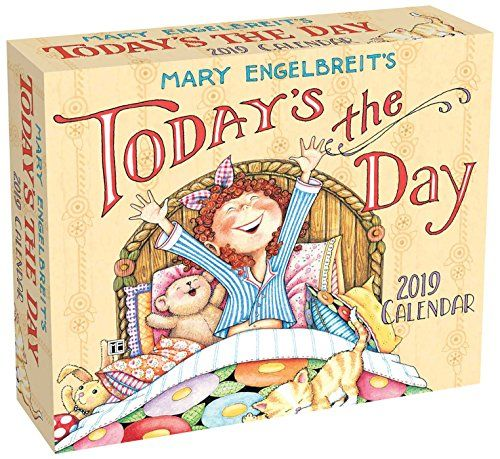Mary Engelbreit 2019 Day-to-Day Calendar Today\u0027s the Day - Make