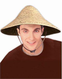 9024d142e611f Straw Asian Rice Paddy Farmer Hat