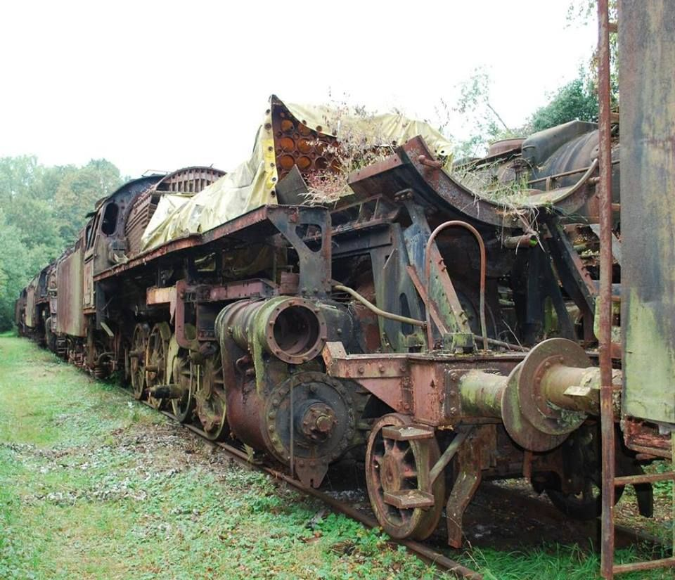 Lost Places Saarland Geocaching: Photo By Phil Horton Of DR 2-10-0 No. 44.264 Displayed At