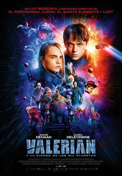 Poster of Luc Besson's Valerian