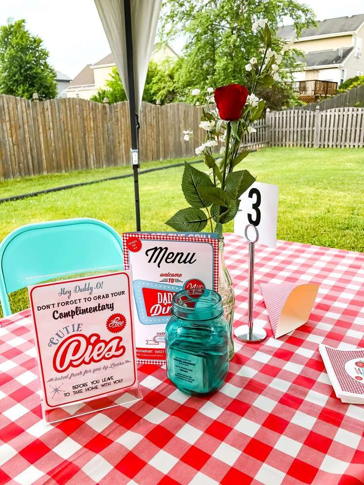 Dad S Diner Father S Day Party Ideas Dads Diner Fathers Day Party