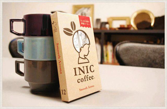 従来のインスタントコーヒーとは全く異なる Inic Coffee イニック コーヒー