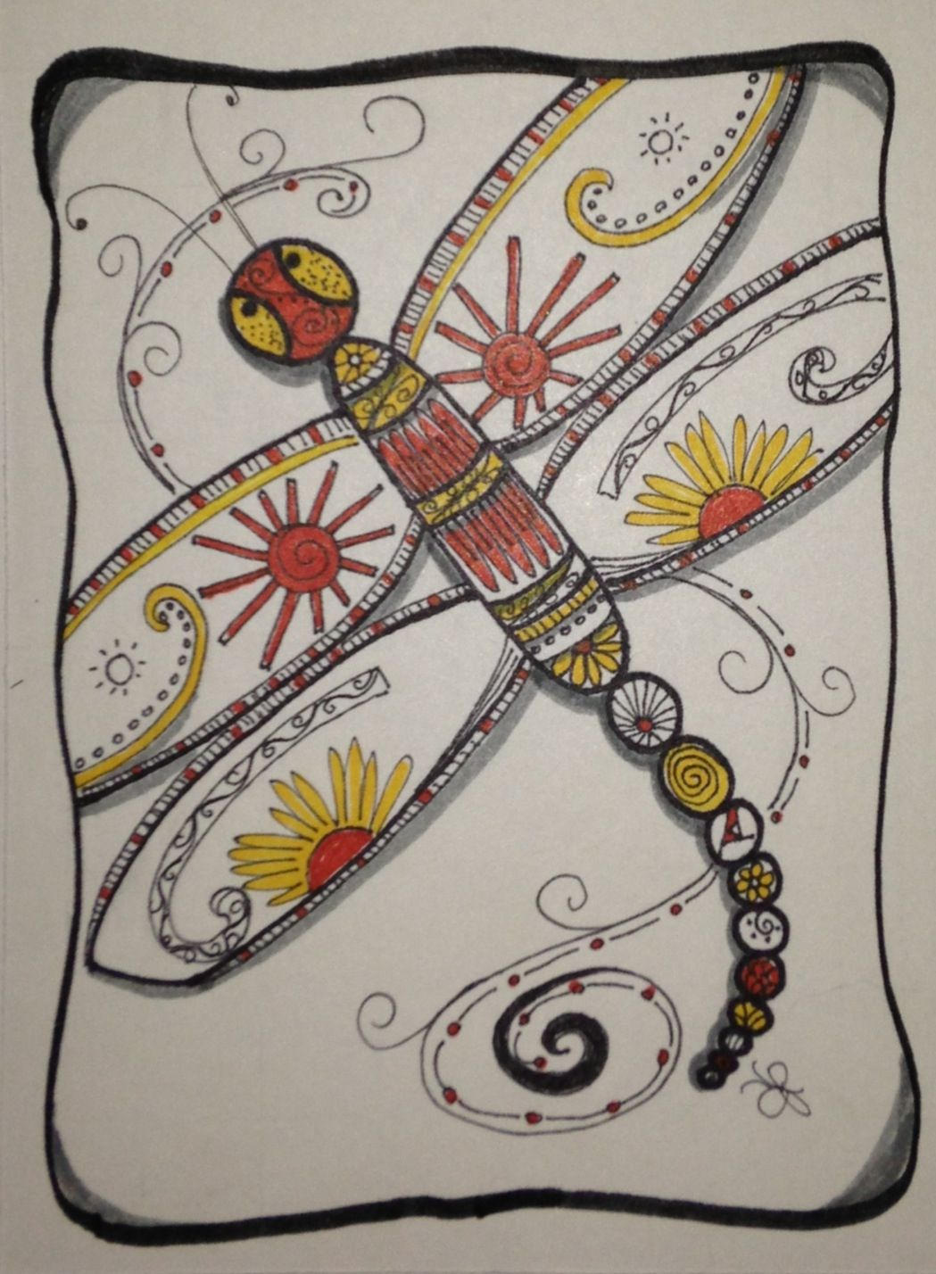 My Dragon Fly by Jeannie Phillips ... So much fun!