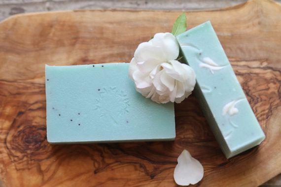 Gardenia soap vegan by FreshCleanGreen on Etsy