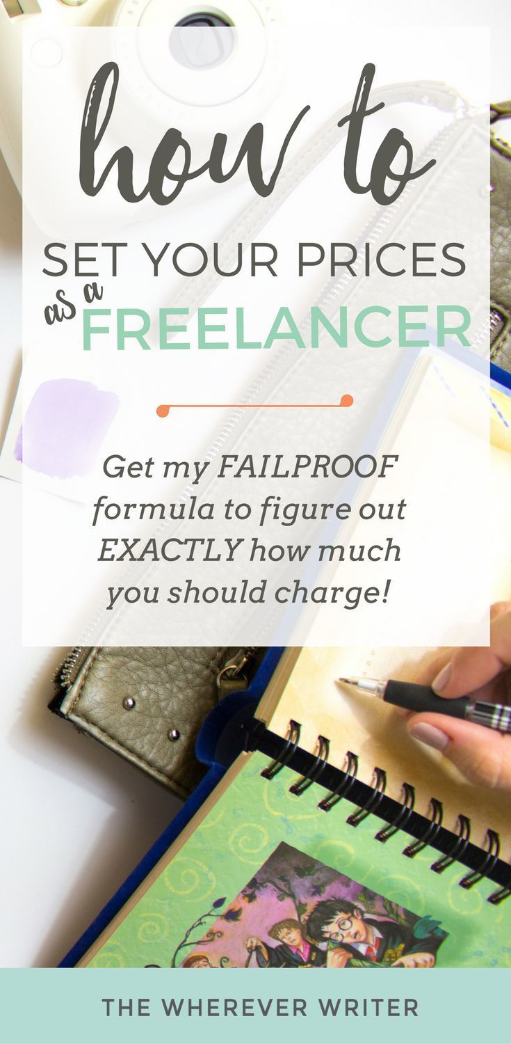 """""""How Much Should I Charge?"""" How to Price Your Freelance"""
