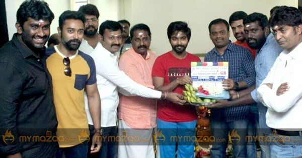 Looks like music director-turned- actor #GvPrakash is one of the busiest man in Kollywood.