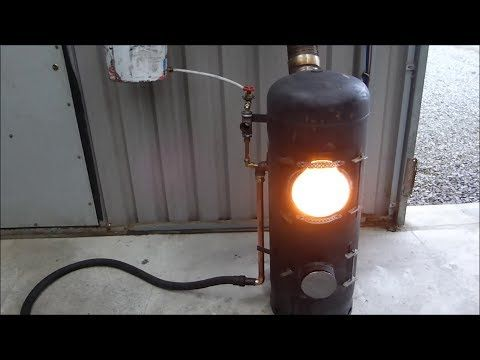Video build your own high efficiency clean burning high output stove video build your own high efficiency clean burning high output waste oil burner page 2 of 2 love diy projects fandeluxe Gallery