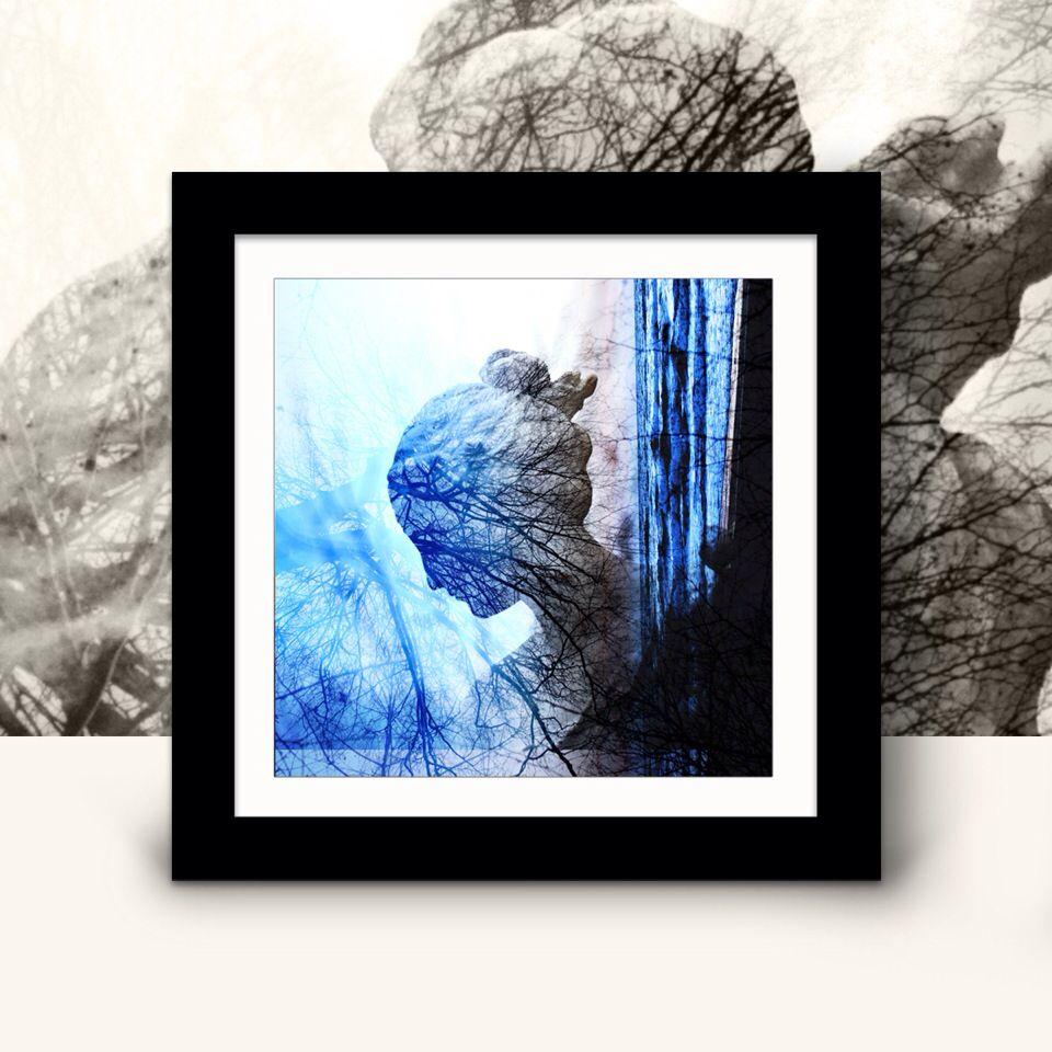 """Fotografie """"Blauer Engel"""" http://de.dawanda.com/shop/miamine"""