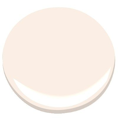 Benjamin Moore Soft White Potential Pale Pink Paint Color For Little S Room