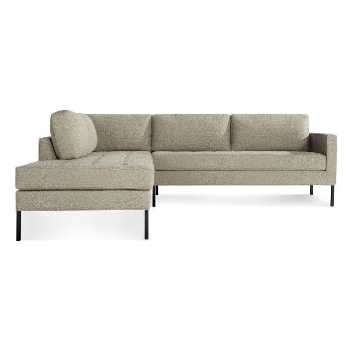Paramount Left Sectional Sofa Modern Designer Sofas Blu Dot