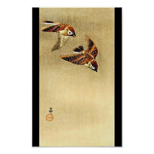 Poster-Vintage Japanese Art-Ohara Koson 10