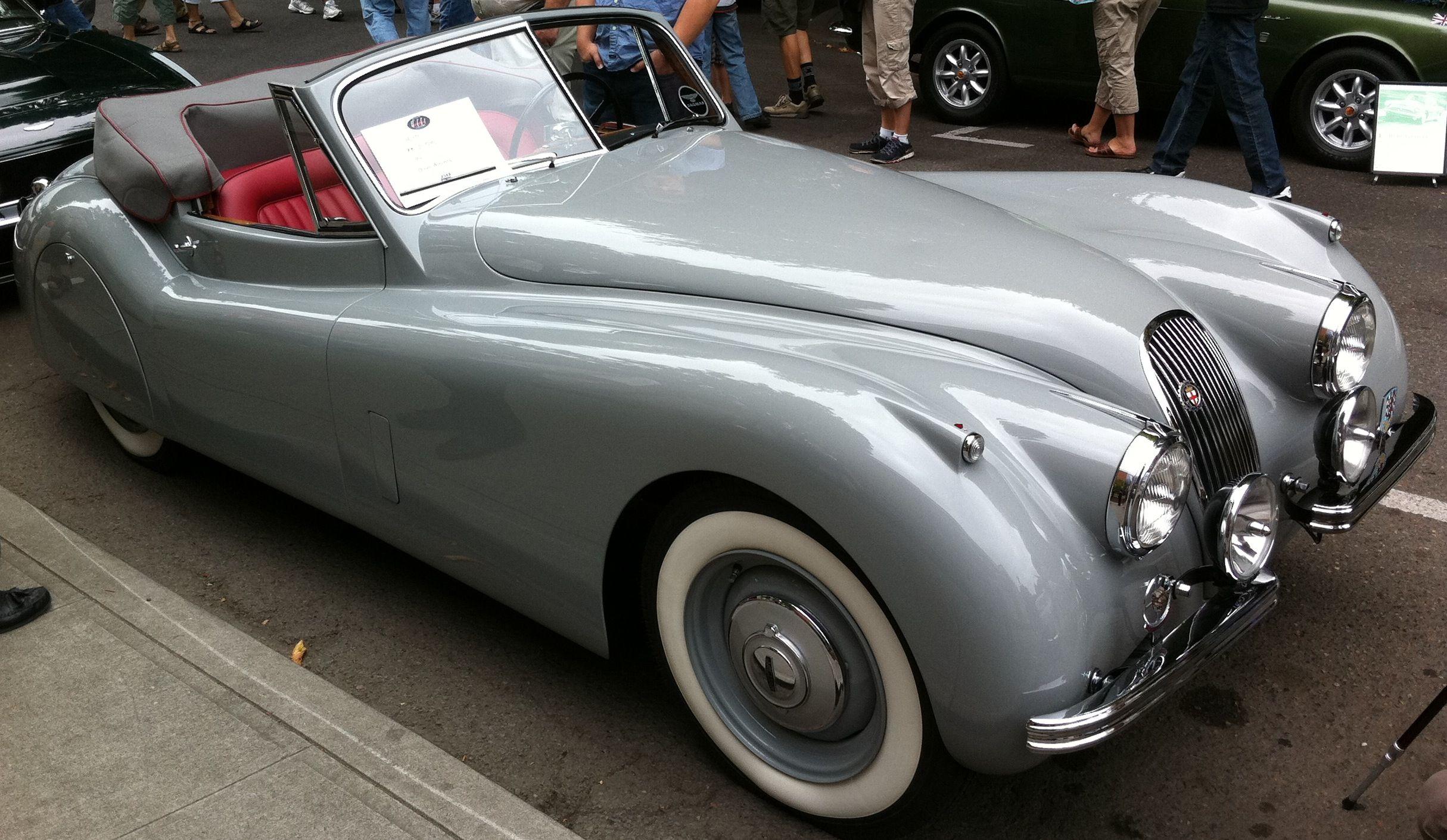 1953 jaguar convertible