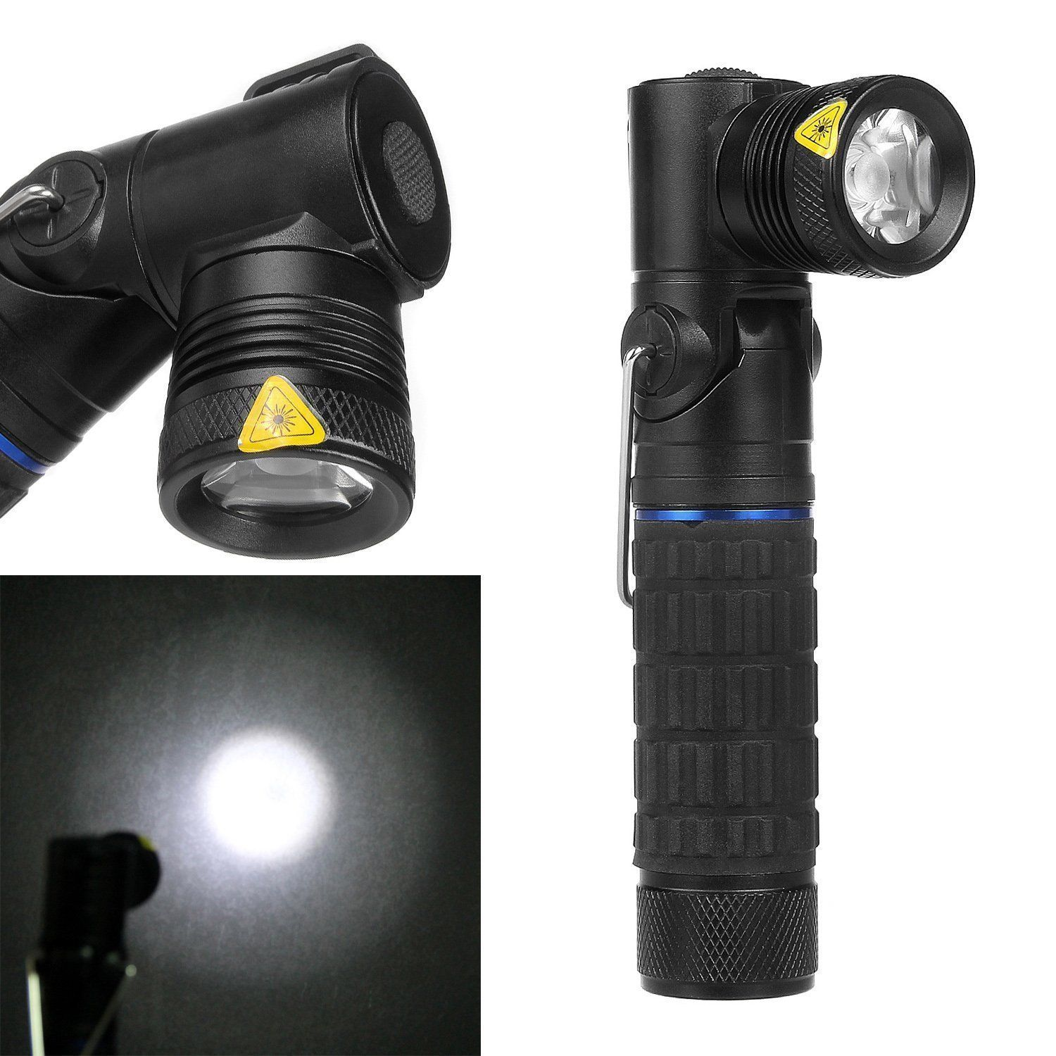 intsun cree xm l led k112 rotating right angle head cree xp e r3