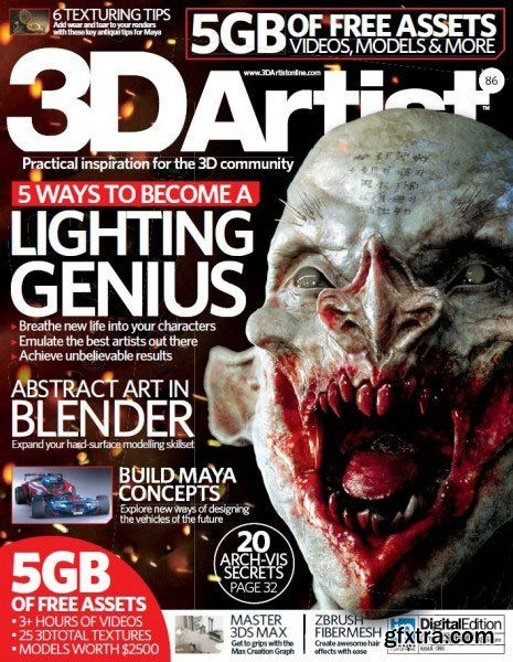 3d Artist Issue 86 2015 English 100 Pages True Pdf 45 Mb