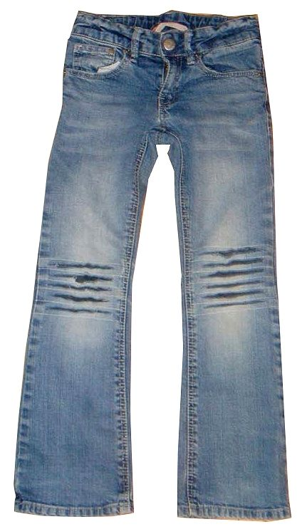 Zerrissene jeans retten