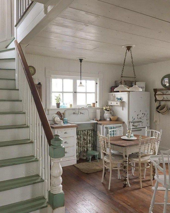 Inspiring French Cottage Kitchen Ideas 63 Country Cottage Kitchen Country House Decor French Cottage Kitchen