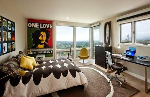 Decoración de dormitorios juveniles con posters - Para Más