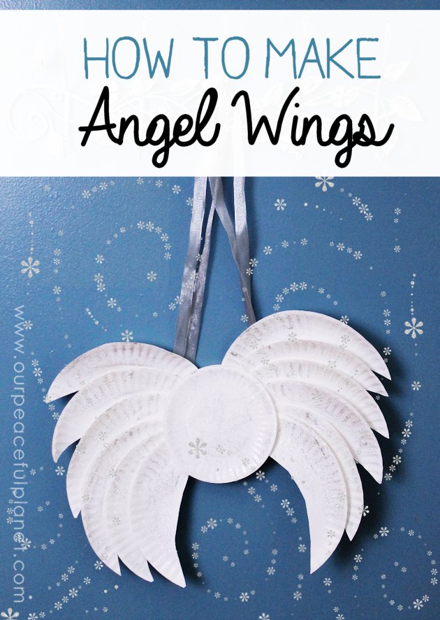 How to angel wear wings